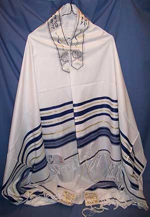 The Tallit, Jewish Prayer Shawl